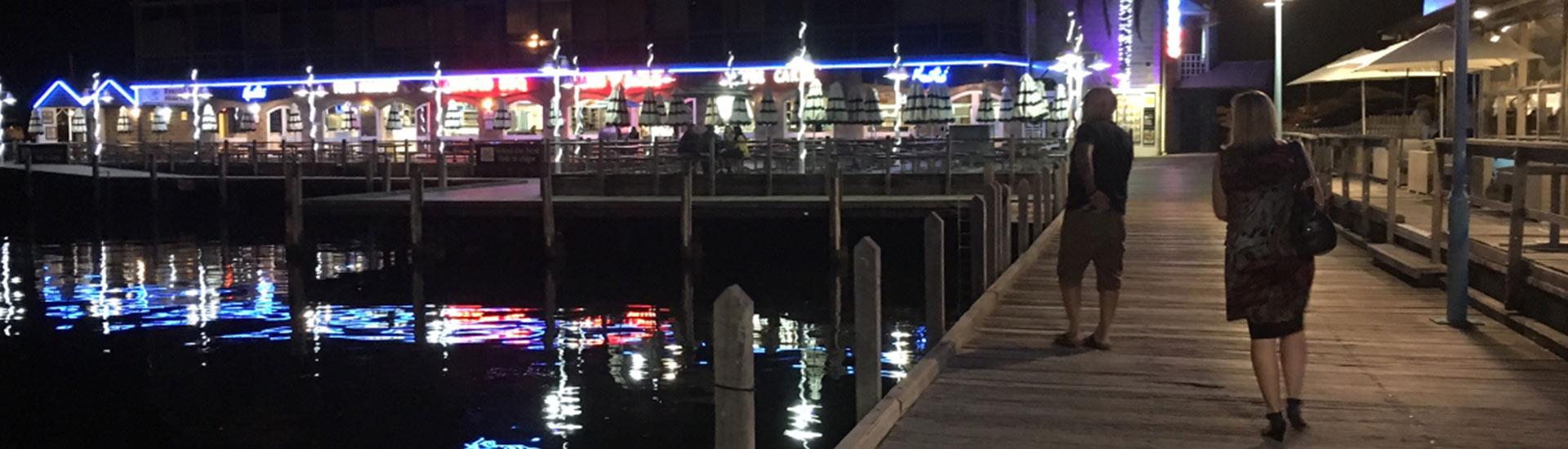 Fishing Boat Harbor in Fremantle