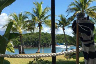 Barbados Port Douglas view day bed