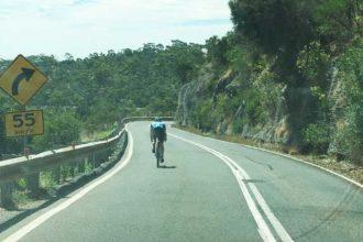 Crazy SA bike rider