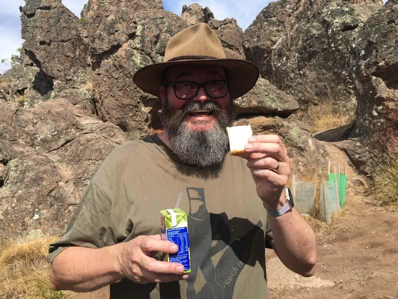 Picnic at Hanging Rock. Snack.