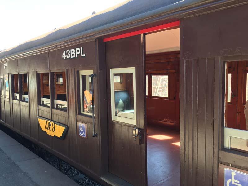 Train Maldon