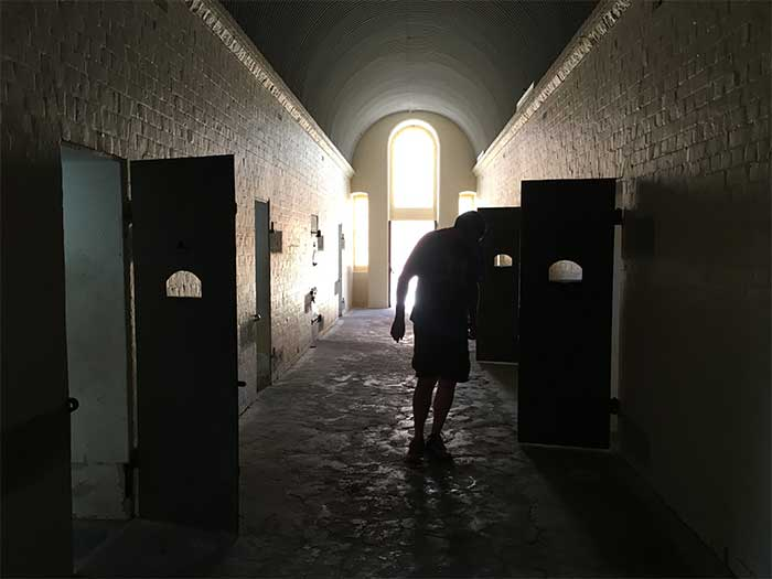 Inside Wentworth Gaol