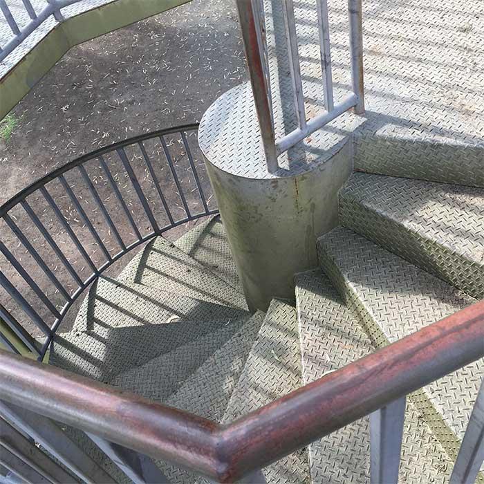 Steps River Junction Tower