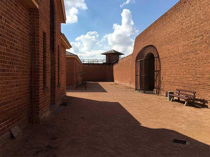 Wentworth Gaol Yard
