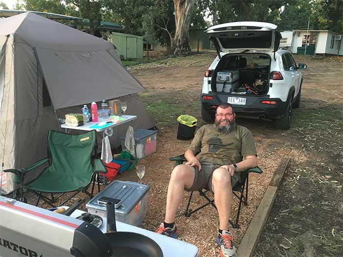 Buronga Riverside Campsite