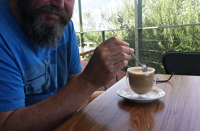 Coffee Varapodio Estate Olive Oil